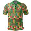 Kente Reggae Golden Polo Shirt J0