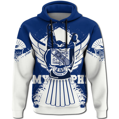 Africa Zone Hoodie - Phi Beta Sigma Fraternity My Dove Pullover J5
