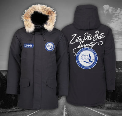 Zeta Phi Beta Langford Parka Black Label 24102019