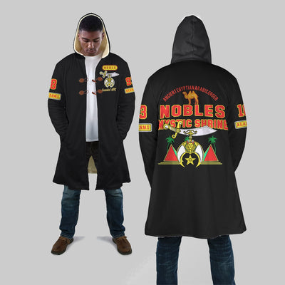 SHRINERS HOODED COAT 25920191