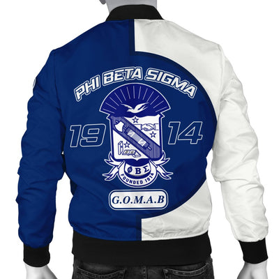 Africa Zone Jacket - Phi Beta Sigma 1914 Bomber - Cycle Style J5
