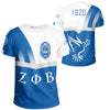 Africa Zone T-Shirt - Zeta Phi Beta 1920 Dove Tee - Prime Style - JR