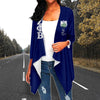 Zeta Phi Beta Loose Cardigan