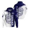 Africa Zone Hoodie - Personalised Zeta Phi Beta In My Heart Zipper Hoodie J5