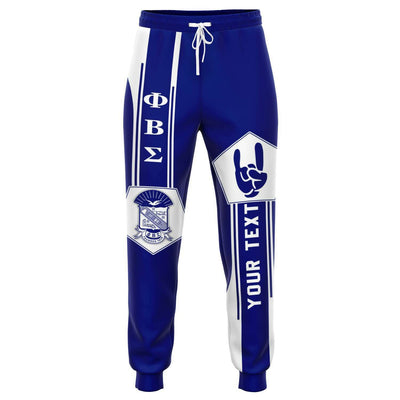 Africa Zone Joggers - Personalised Phi Beta Sigma Jogger Pant - Simple Style J8