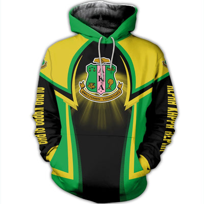 3D ALL OVER ALPHA KAPPA ALPHA HOODIE T SHIRT 1732020