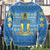 3D ALL OVER PRINT ALPHA TAU OMEGA UGLY SWEATER