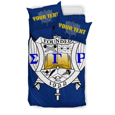 Africa Zone Bedding Set - Personalised Sigma Gamma Rho Bedding Set Classic J1