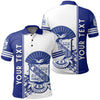Africa Zone Polo Shirt - Personalized Phi Beta Sigma Polo Shirt Quarter Style J1