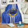 Kappa Kappa Psi fleece blanket