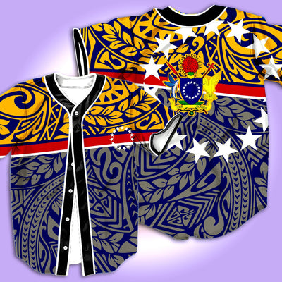 COOK ISLANDS BASEBALL JERSEY 1