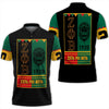 Africa Zone Polo - Zeta Phi Beta Black History Month Polo Shirt J09