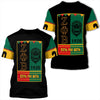 Africa Zone T-Shirt - Zeta Phi Beta Black History Month T-Shirt J09