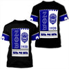 Africa Zone T-Shirt - Zeta Phi Beta Black Style T-Shirt J09