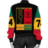 Africa Zone Jacket - Heroines Of Jericho Black History Month Bomber Jacket J09