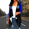 Zeta Phi Beta Loose Cardigan 01