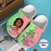 Alpha kappa alpha Custom name Crocs Clog
