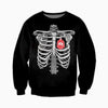 3D ALL OVER DELTA SIGMA THETA SKELETON BOMBER JACKET