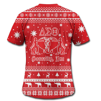 3D ALL OVER DELTA SIGMA THETA UGLY SWEATER 1992019