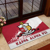 Africa Door Mat - Kappa Alpha Psi Door Mat Quarter Style J1