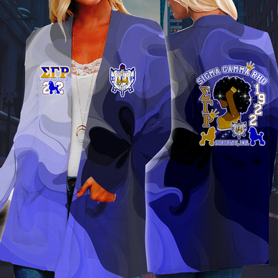 Sigma Gamma Rho Long Sleeve Cardigan 04