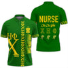 Africa Zone Polo - Green Chi Eta Phi Polo Shirt J90