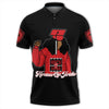 Africa Zone Polo - Heroines Of Jericho HBCU Style Polo Shirt J09