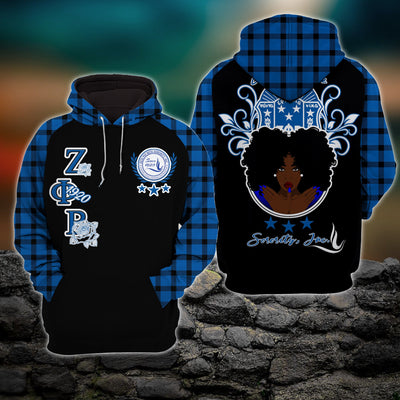 3D ALL OVER PRINTED ZETA PHI BETA CLOTHES