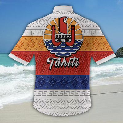 Tahiti Hawaiian Shirt 1