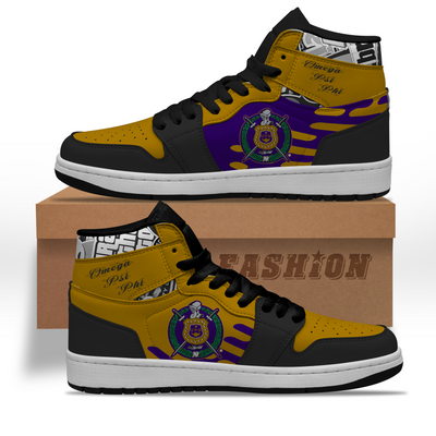 Omega Psi Phi Sneaker Boots 1