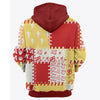 3D ALL OVER KAPPA ALPHA PSI HOODIE 20820192
