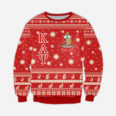 3D ALL OVER KAPPA ALPHA PSI UGLY SWEATER 41020191