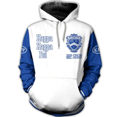 3D ALL OVER KAPPA KAPPA PSI HOODIE 171020191