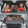 Delta Sigma Theta Windshield Shade