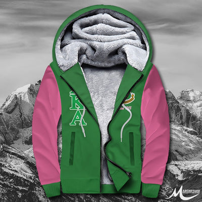 Alpha Kappa Alpha Fleece Zip Hoodies 281020191