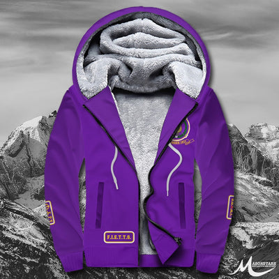 Omega Psi Phi Fleece Zip Hoodies 221020192