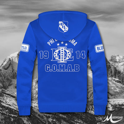 Phi Beta Sigma Fleece Zip Hoodies 23102019