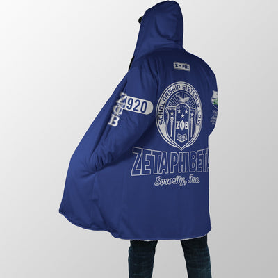 ZETA PHI BETA HOODED COAT 19920197