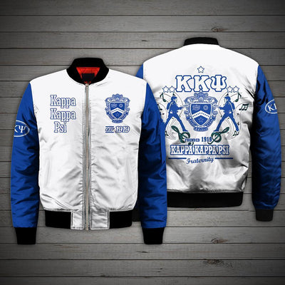 3D ALL OVER KAPPA KAPPA PSI BOMBER JACKET 171020195
