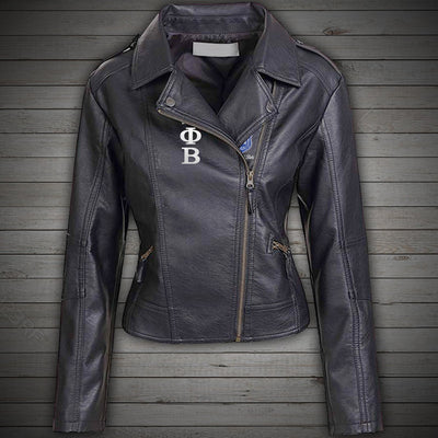 Zeta Phi Beta Leather Jacket 241020192