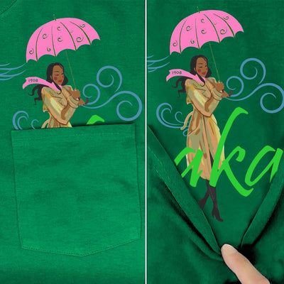 Alpha Kappa Alpha Pocket T-Shirt
