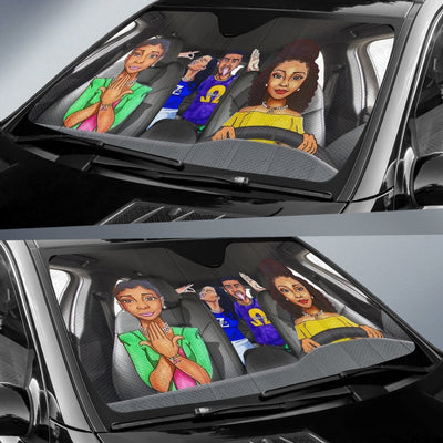 Fraternity and sorority Windshield Shade