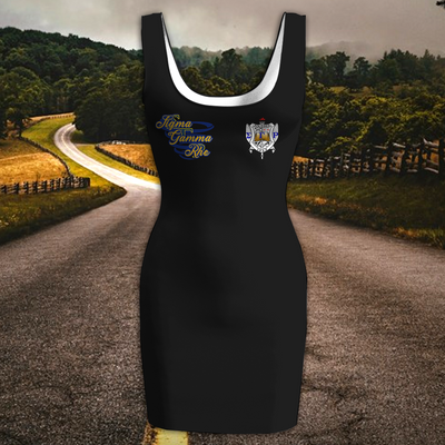 SIGMA GAMMA RHO WOMEN'S RACERBACK DRESS