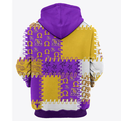 3D ALL OVER OMEGA PHI PSI HOODIE 2282019
