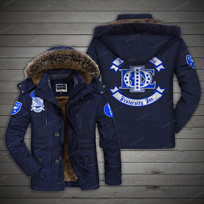 PHI BETA SIGMA COTTON FLEECE COAT 281220193