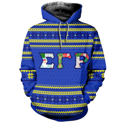 3D ALL OVER SIGMA GAMMA RHO UGLY SWEATER 16102019