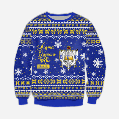 3D ALL OVER SIGMA GAMMA RHO UGLY SWEATER 2792019