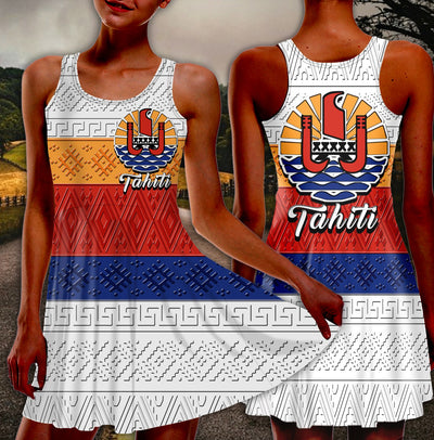 tahiti Racerback Skater Dress 1
