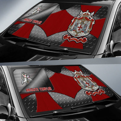 Knights Templar Windshield Shade 9102019