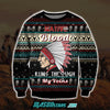 NATIVE BLOOD 3D ALL OVER PRINT UGLY CHRISTMAS SWEATER